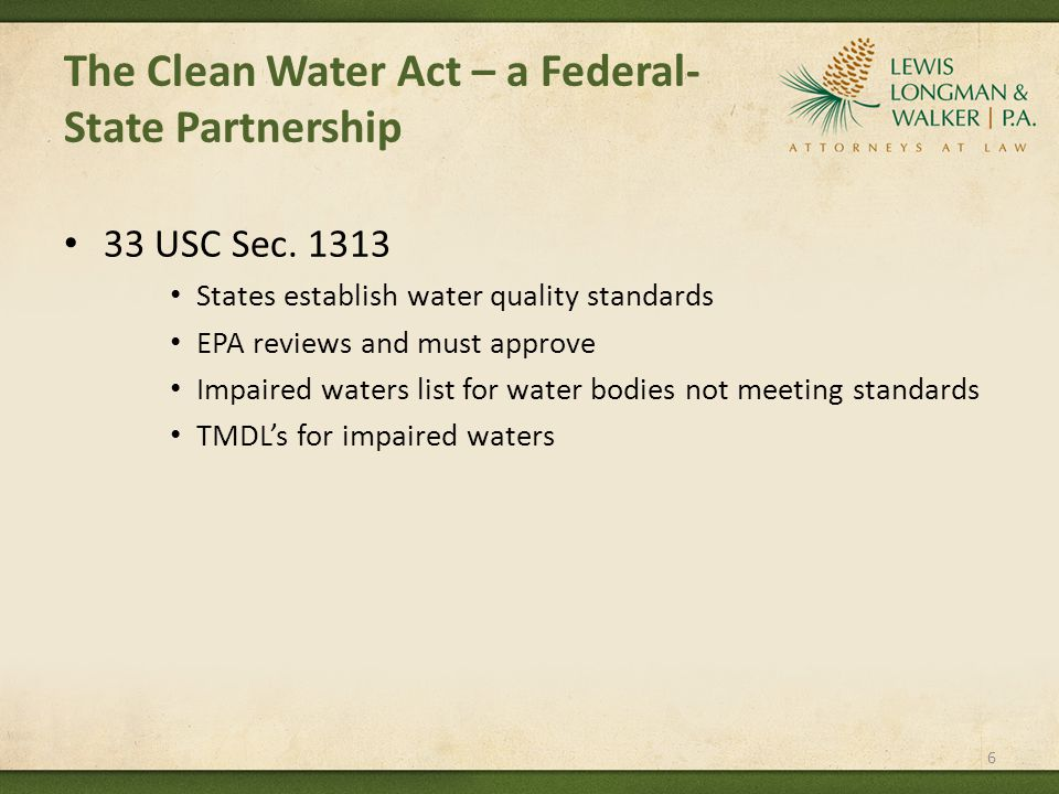 AND THE COURT RULED – Found the in-stream values for flowing waters to be arbitrary and capricious Have until May 21, 2012 to justify rule or re-propose rule Potential effective date of July 6, 2012 (delayed by EPA) 17