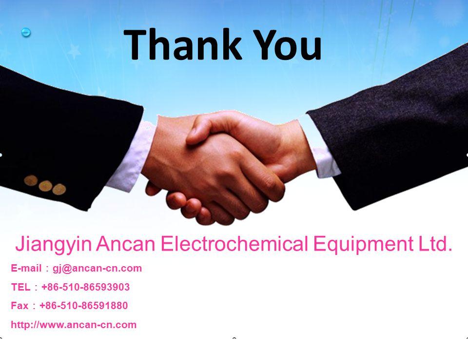 Jiangyin Ancan Electrochemical Equipment Ltd.