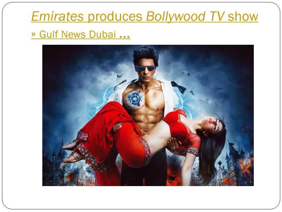 Emirates produces Bollywood TV show » Gulf News Dubai...
