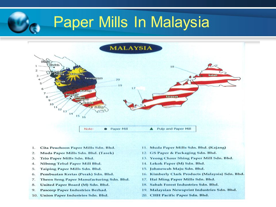 Paper Mills In Malaysia