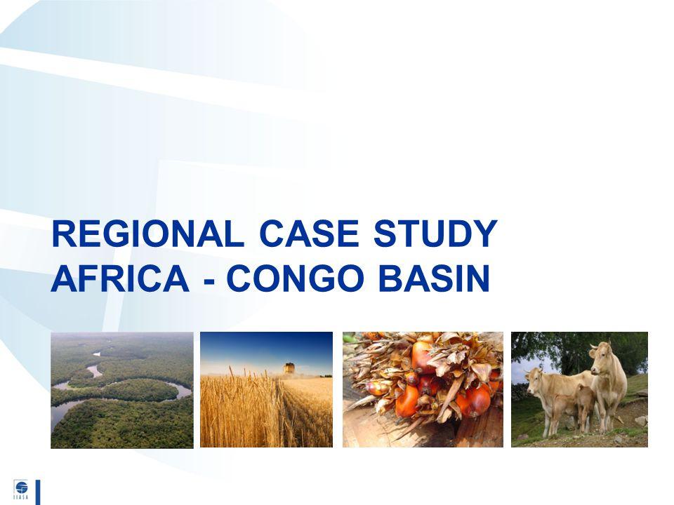REGIONAL CASE STUDY AFRICA - CONGO BASIN