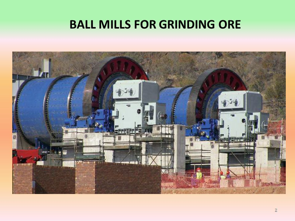 BALL MILLS FOR GRINDING ORE