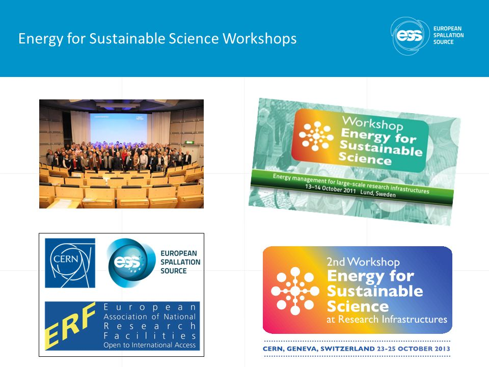 Energy for Sustainable Science Workshops