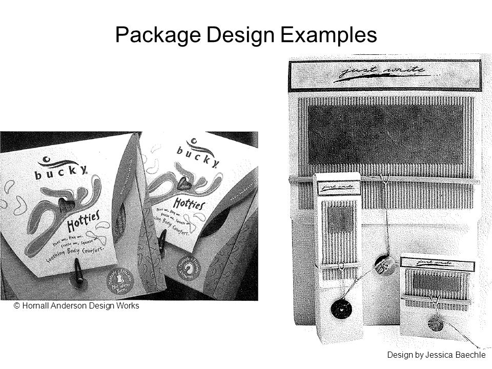 Package Design Examples Design by Jessica Baechle © Hornall Anderson Design Works