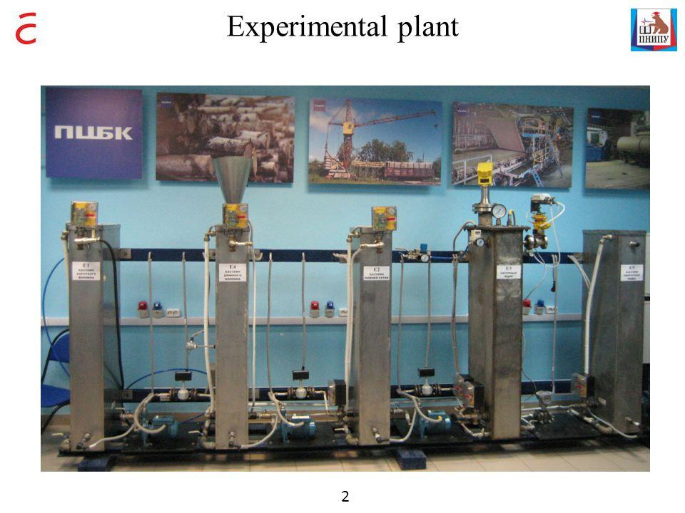 Experimental plant 2