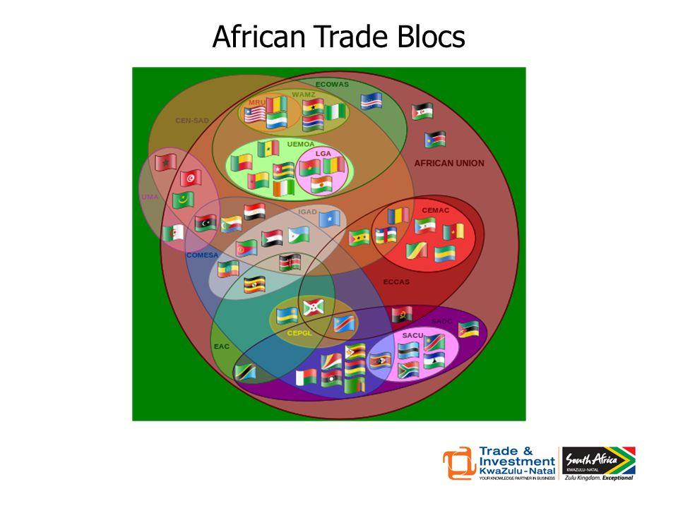 African Trade Blocs