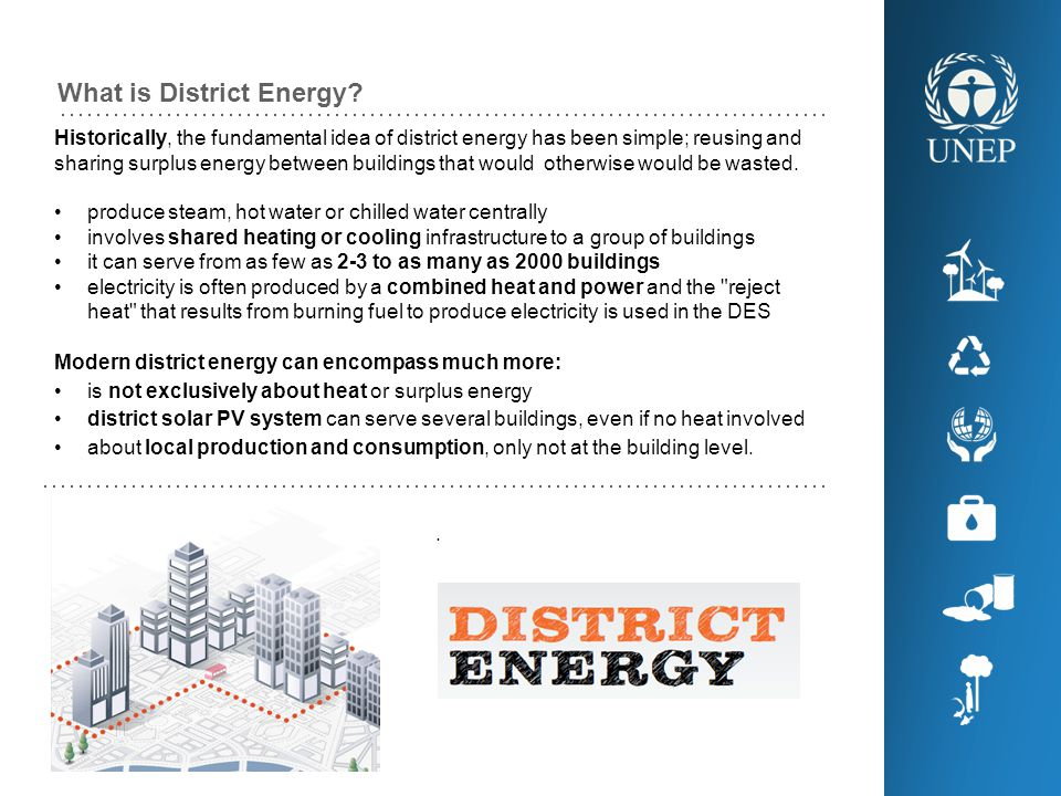What is District Energy.