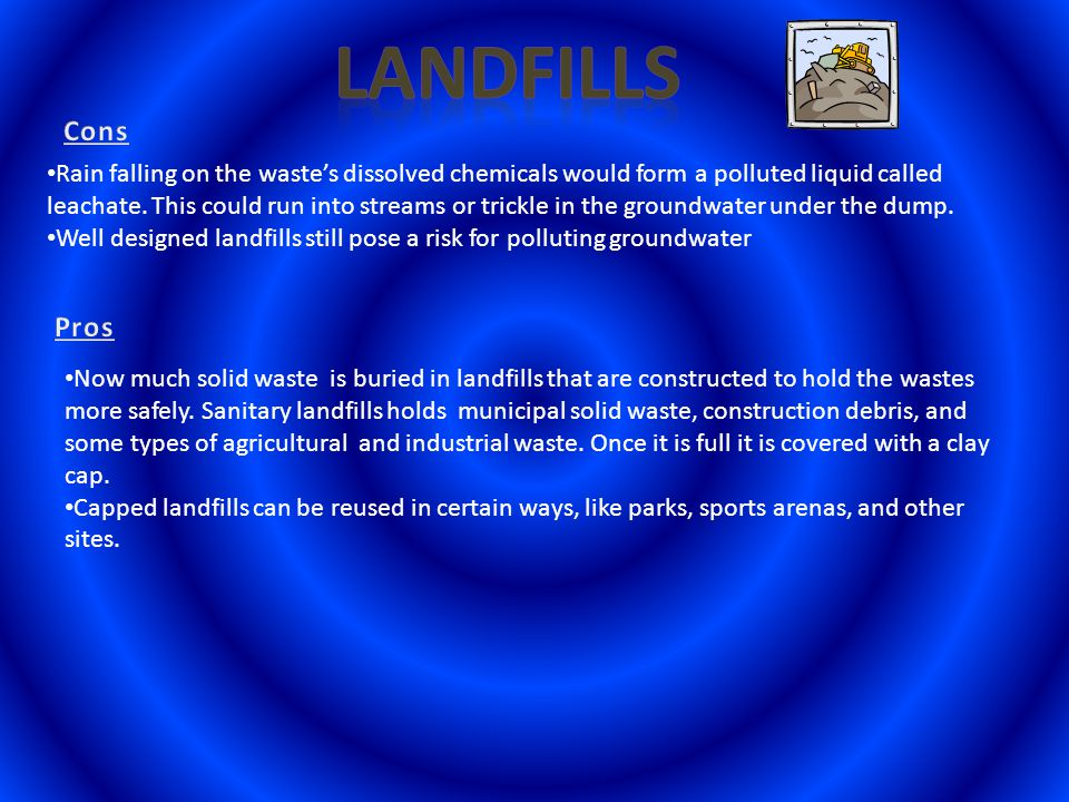 The waste materials produced in homes, businesses, schools, and other places in a community.
