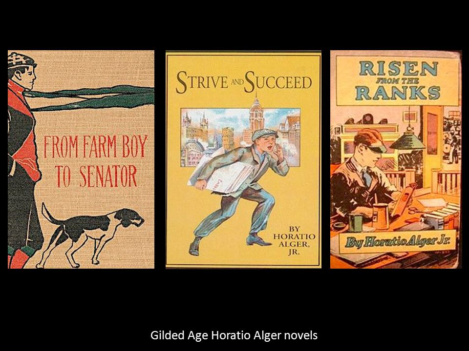 Gilded Age Horatio Alger novels