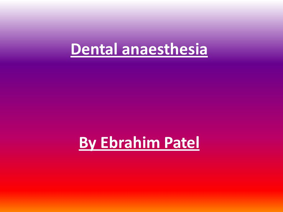 Advantages of intraligamentary anesthesia Immediate anesthesia of one tooth.