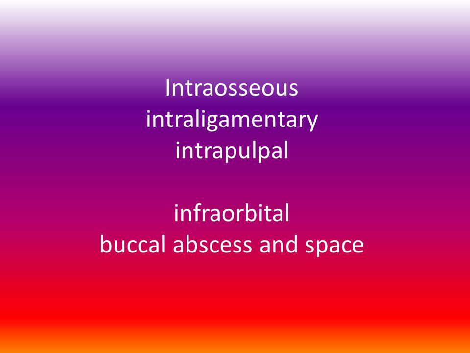 Buccal abscess