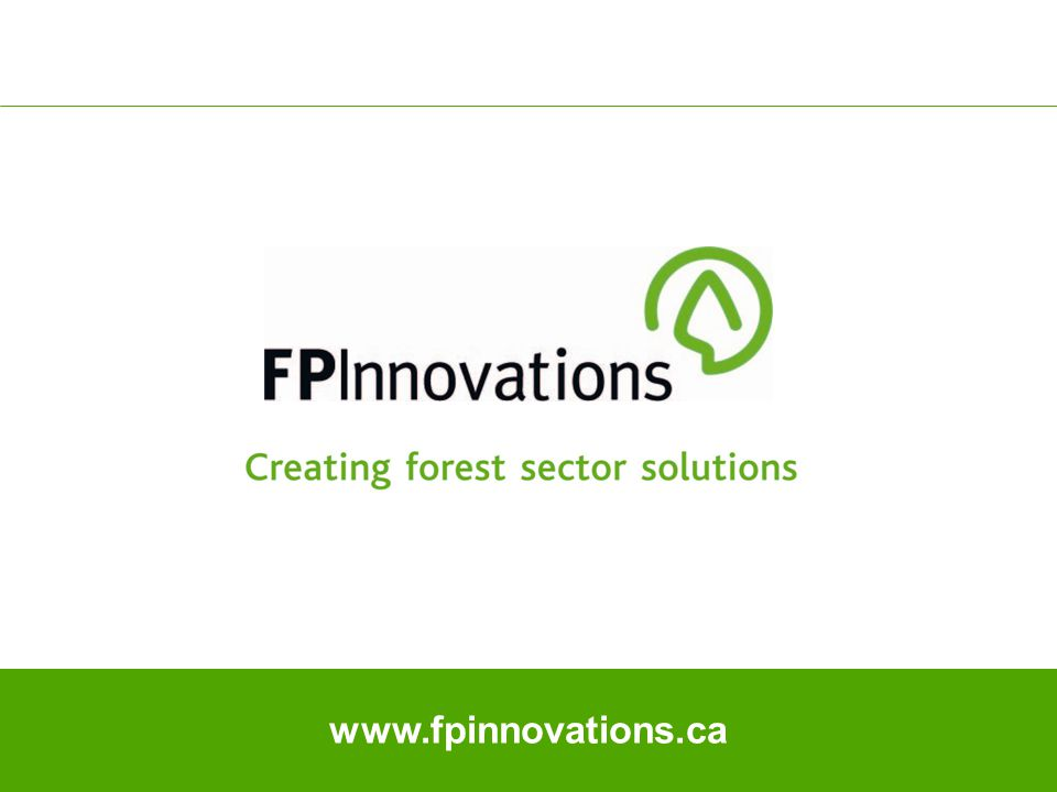 17 www.fpinnovations.ca