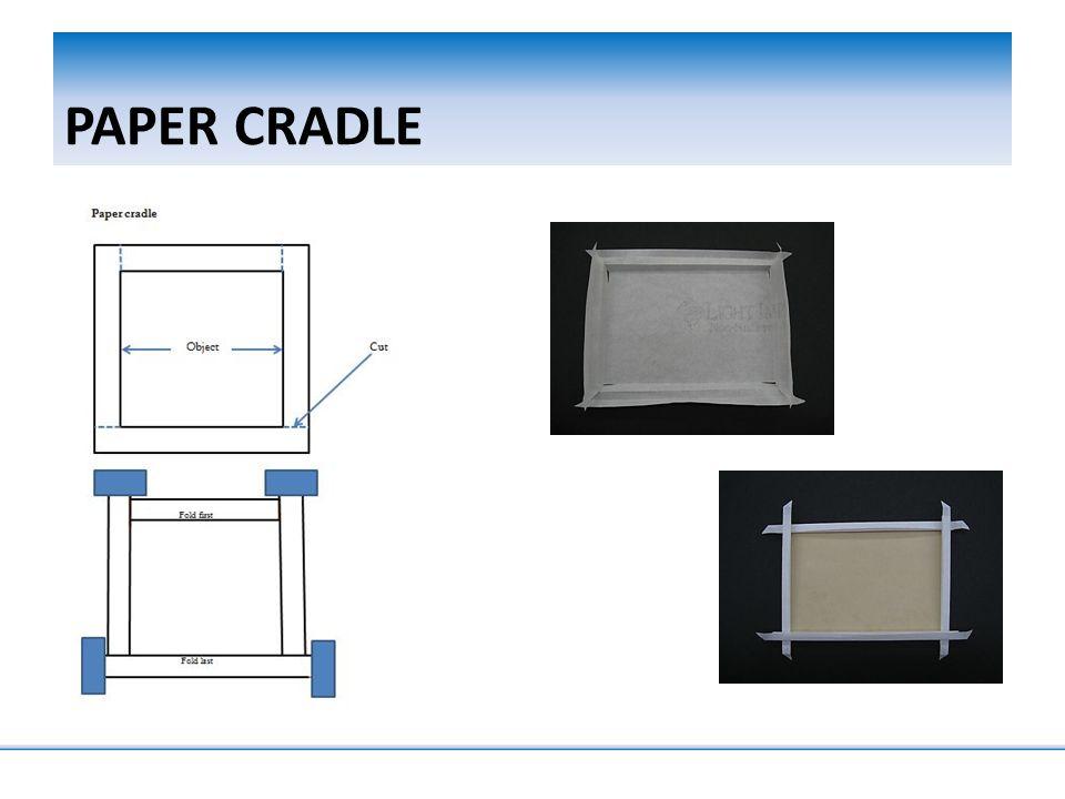 PAPER CRADLE