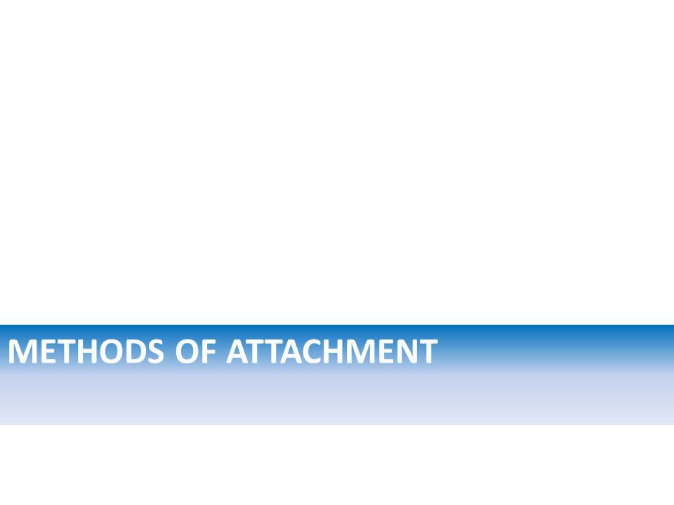 METHODS OF ATTACHMENT