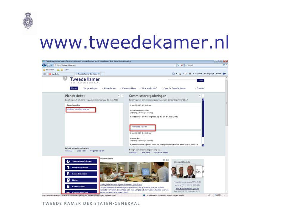 www.tweedekamer.nl