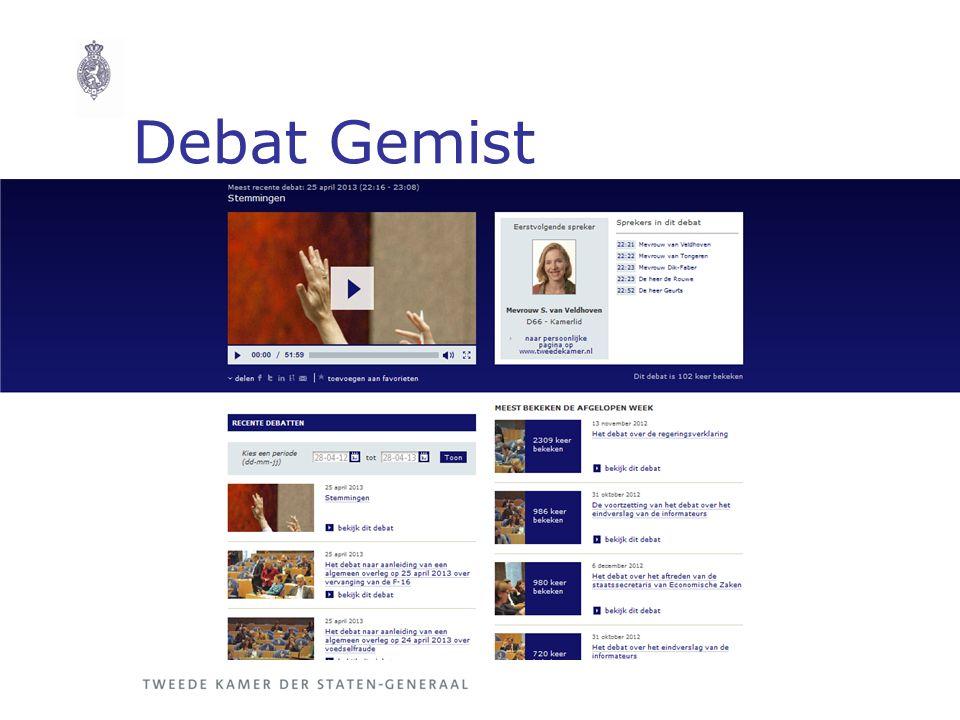 Debat Gemist