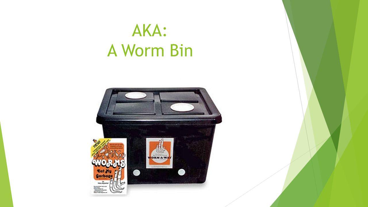 AKA: A Worm Bin