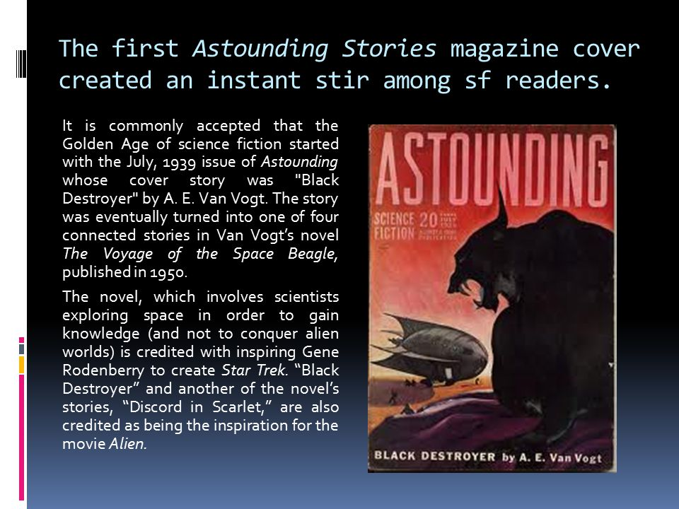 The first Astounding Stories magazine cover created an instant stir among sf readers.