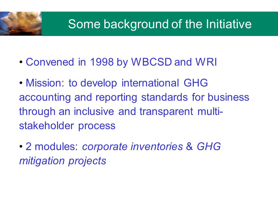Why set a GHG target.Steps in setting and reporting progress towards a GHG target 1.