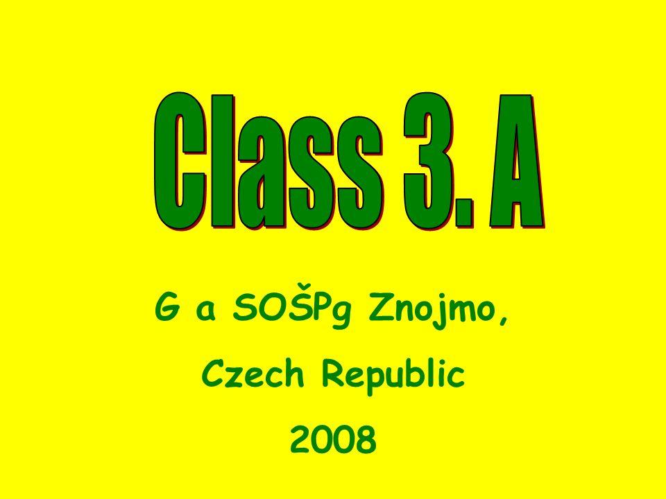 G a SOŠPg Znojmo, Czech Republic 2008