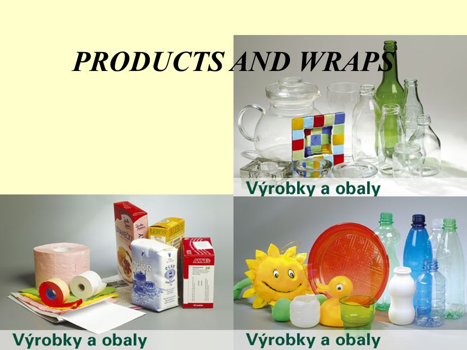PRODUCTS AND WRAPS
