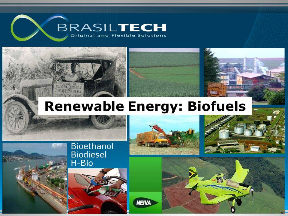 Bioethanol Biodiesel H-Bio Renewable Energy: Biofuels