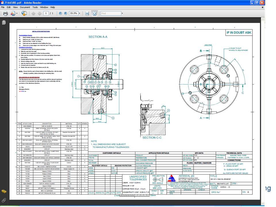 Copyright © 2002 AESSEAL plc Copyright © 2008 AESSEAL plc reliability focused engineering