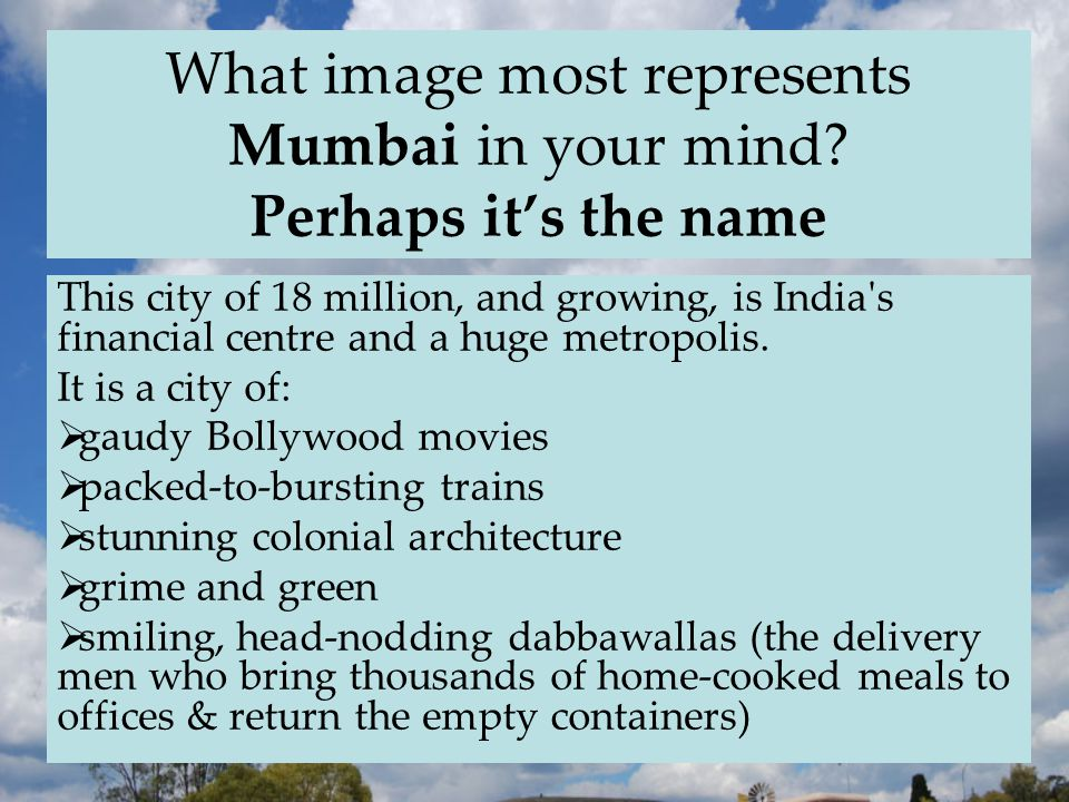 What image most represents Mumbai in your mind.