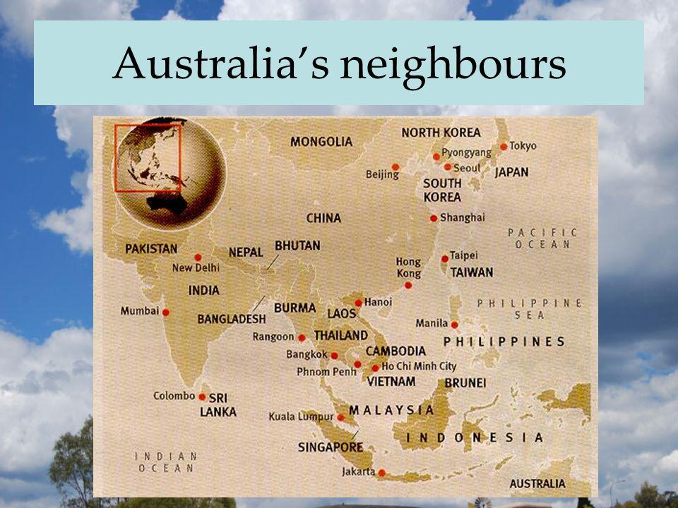 Australia's neighbours