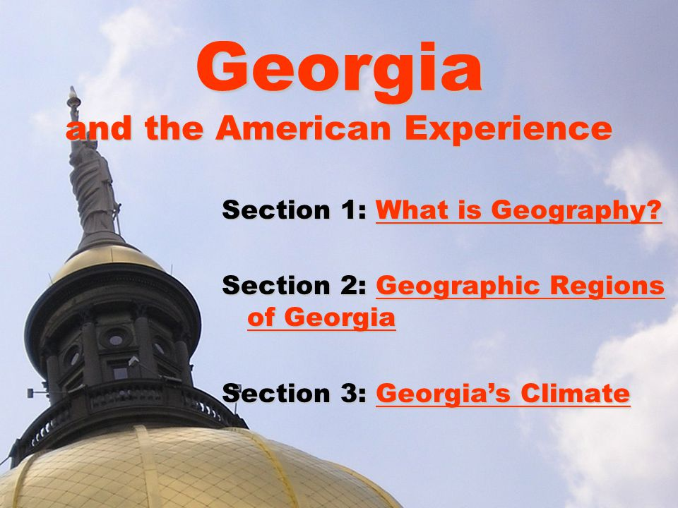Section 1: What is Geography.