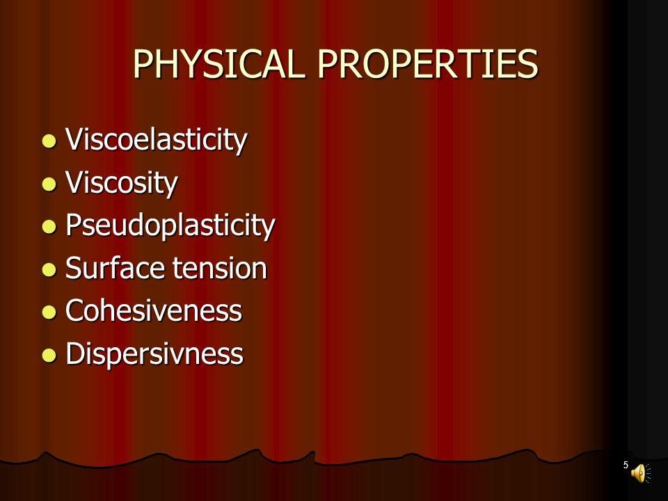 4 What are viscoelastics.