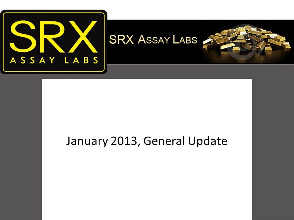 SRX ASSAY LABS January 2013, General Update