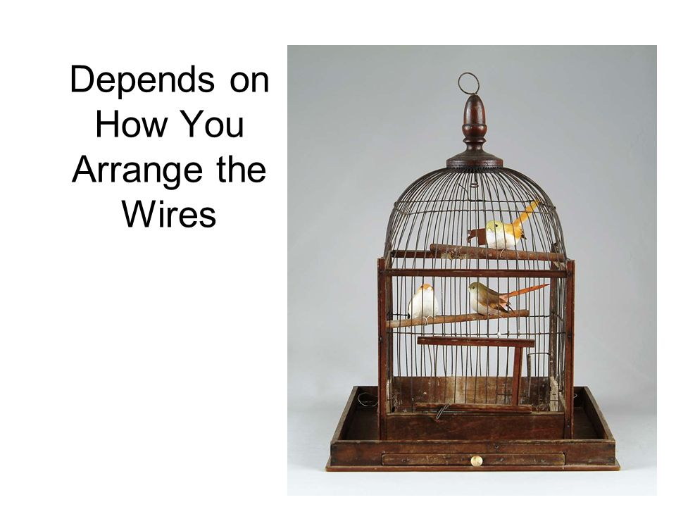 Depends on How You Arrange the Wires