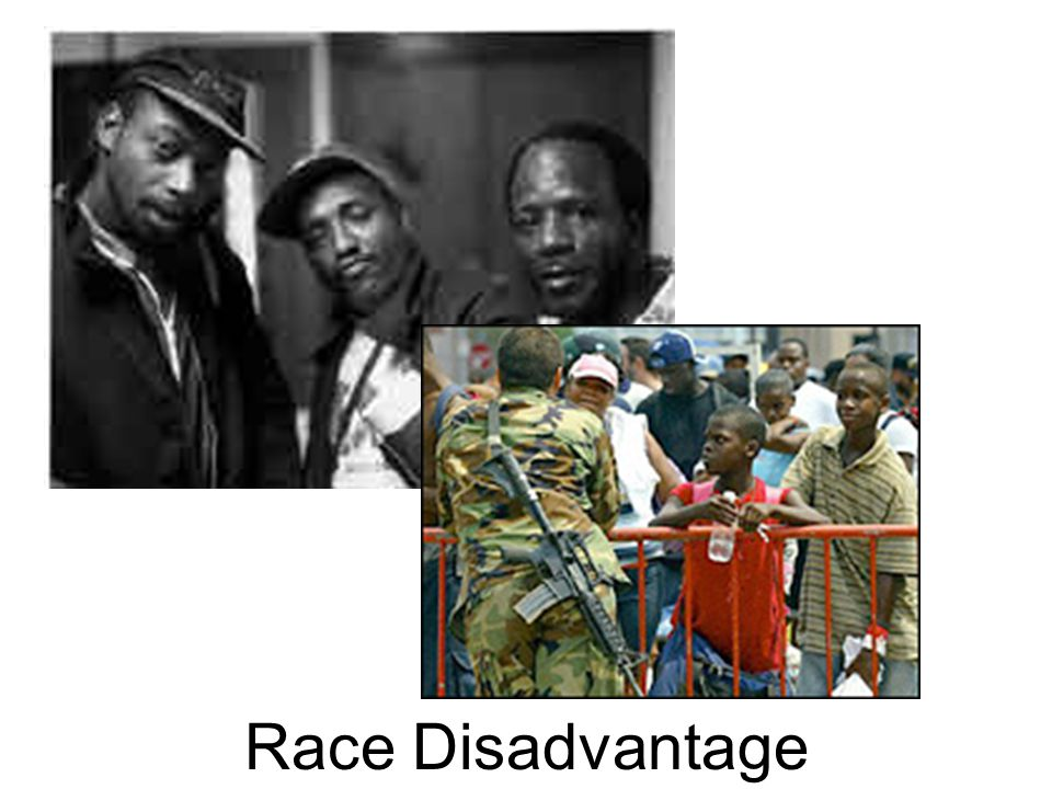 Race Disadvantage