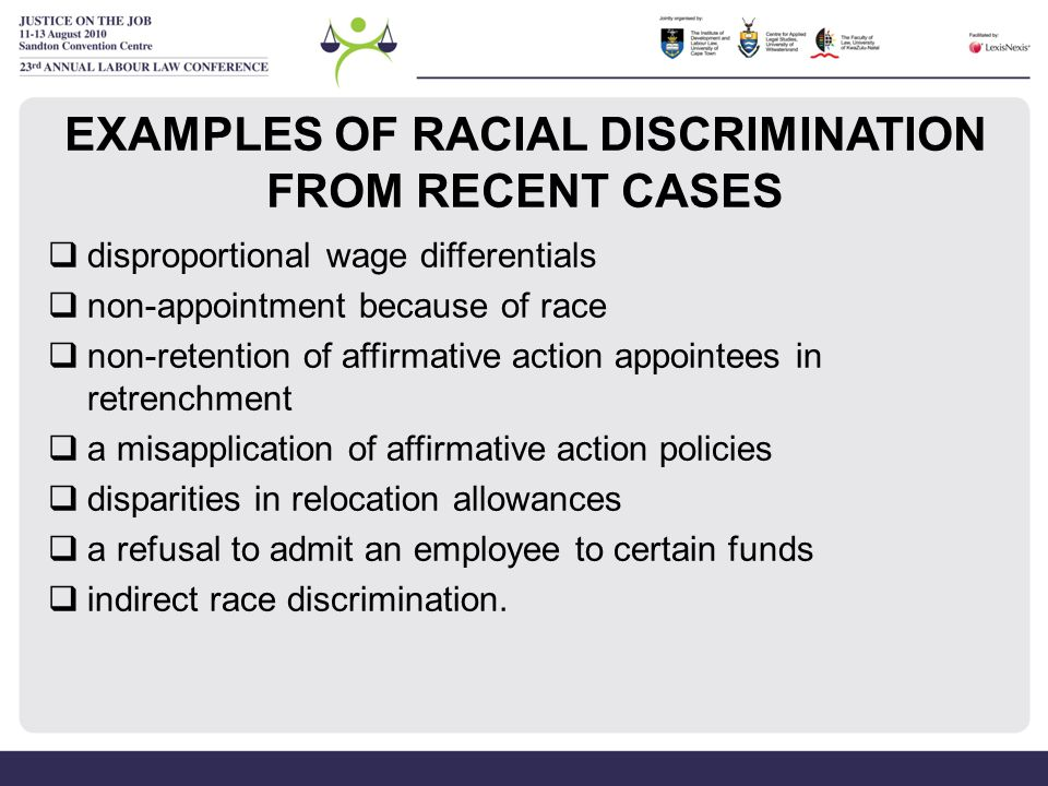 ESTABLISHING RACIAL HARASSMENT To establish racial harassment an employer must prove on a balance of probabilities that the conduct complained of was (a)unwanted conduct which (b)was persistent or serious and (c)demeaned, humiliated or created a hostile or intimidating environment, or (d)was calculated to induce submission by actual or threatened adverse consequences, and (e)which was related to race or a characteristic associated with such group.