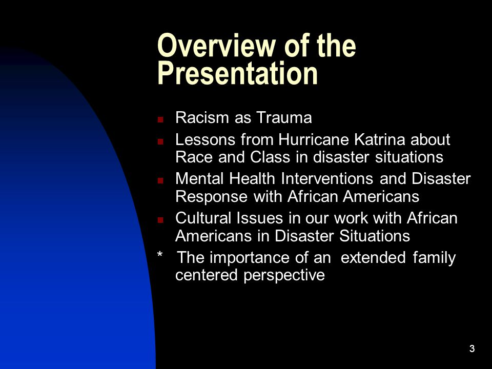 4 Religion and Spirituality In the lives of African Americans Extremely important in terms of spiritual resilience Healing in Times of Trauma WILL BE DISCUSSED IN MY PRESENTATION THIS AFTERNOON