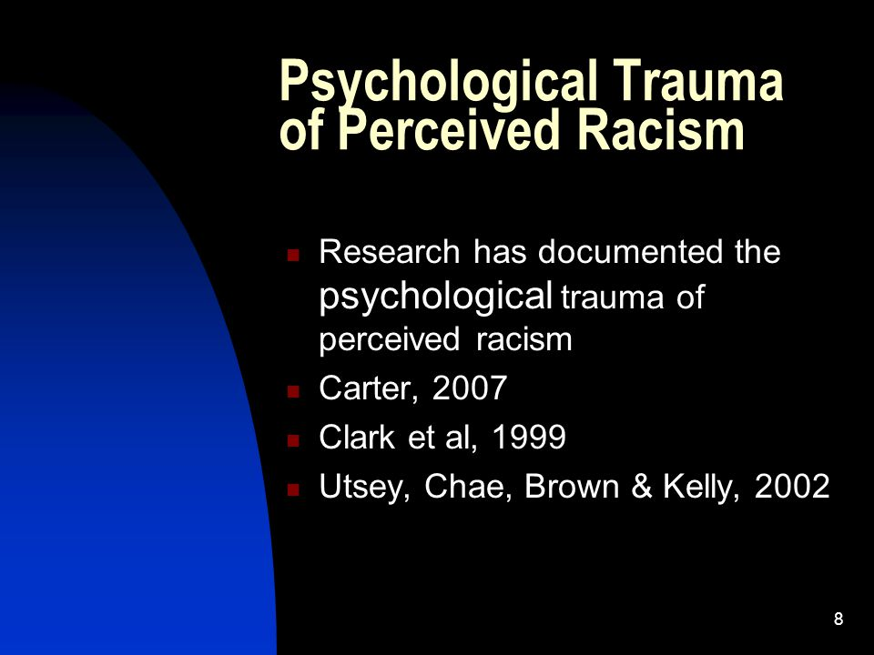 39 Resilience of African Americans in the Face of Disaster, Trauma & Racism Historic resilience of Black People Survival Skills This is not our first disaster and it won't be our last. Strengths How have you overcome traumatic experiences in the past.