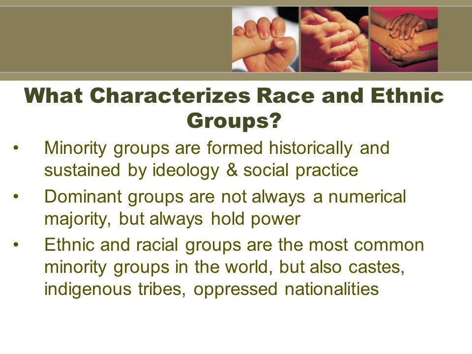 The Concept of Race Race is a group within the human species that is identified by a society as presumably having certain biologically inherited physical characteristics that are significant Racial classifications have been based on numerous physical characteristics, usually accompanying European colonial expansion in the American, Asia, and Africa.