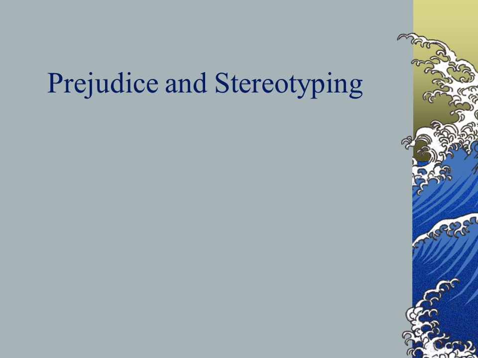 Effective Strategies for Reducing Prejudice & Conflict Both sides must cooperate for a common goal Both sides must have equal status & standing Both sides must believe they have the moral, legal, and economic support of authorities Both sides must have opportunities to work and socialize together formally & informally ( Amir, 1994; Brewer, 1986; Kohn, 1992; Stephan & Brigham, 1985; Stephan & Stephan, 1992)