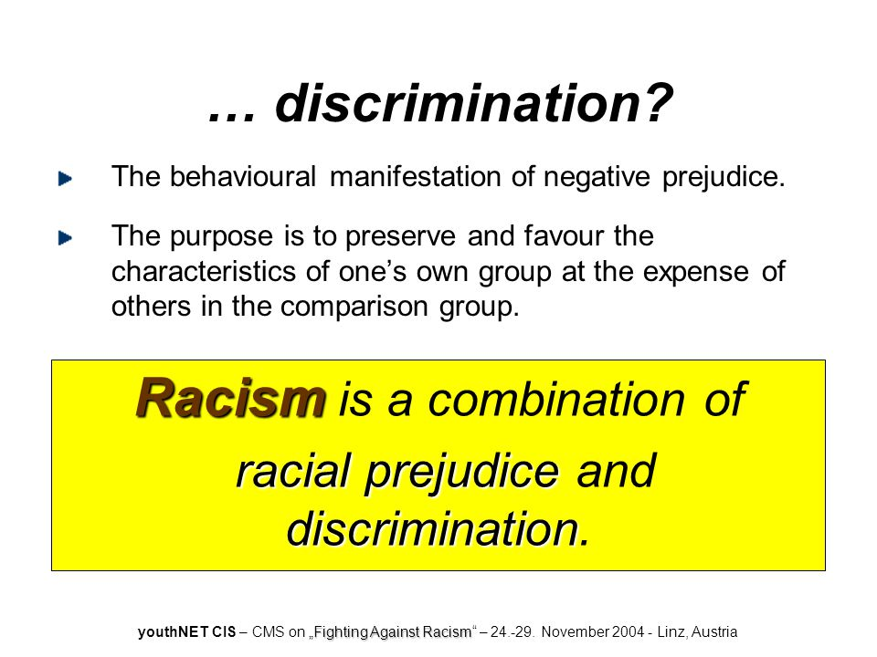 "Fighting Against Racism youthNET CIS – CMS on ""Fighting Against Racism – 24.-29."