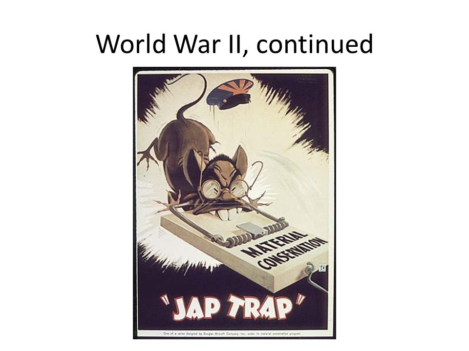World War II, continued