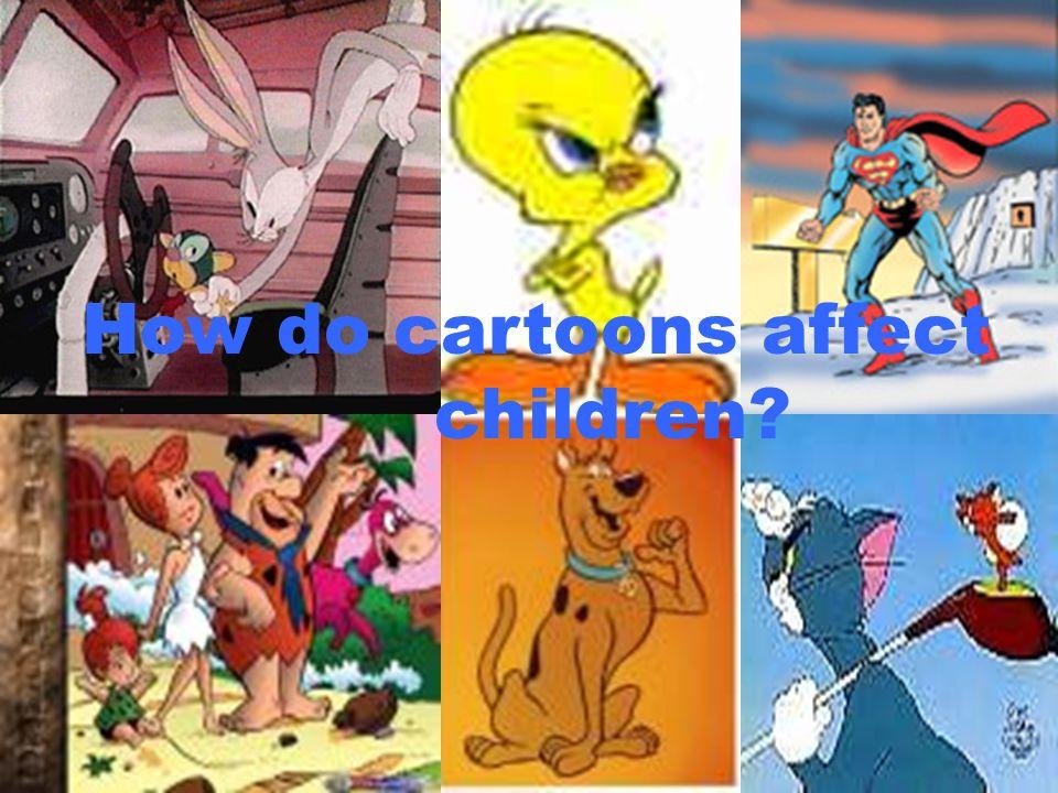 How do cartoons affect children