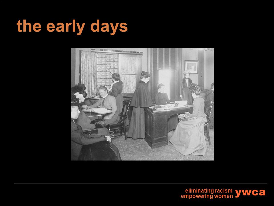 the early days eliminating racism empowering women ywca
