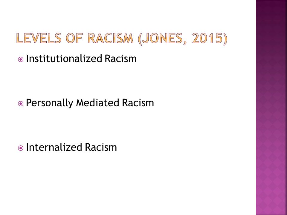  Racism, discrimination and bias waste incredible human resources for society.