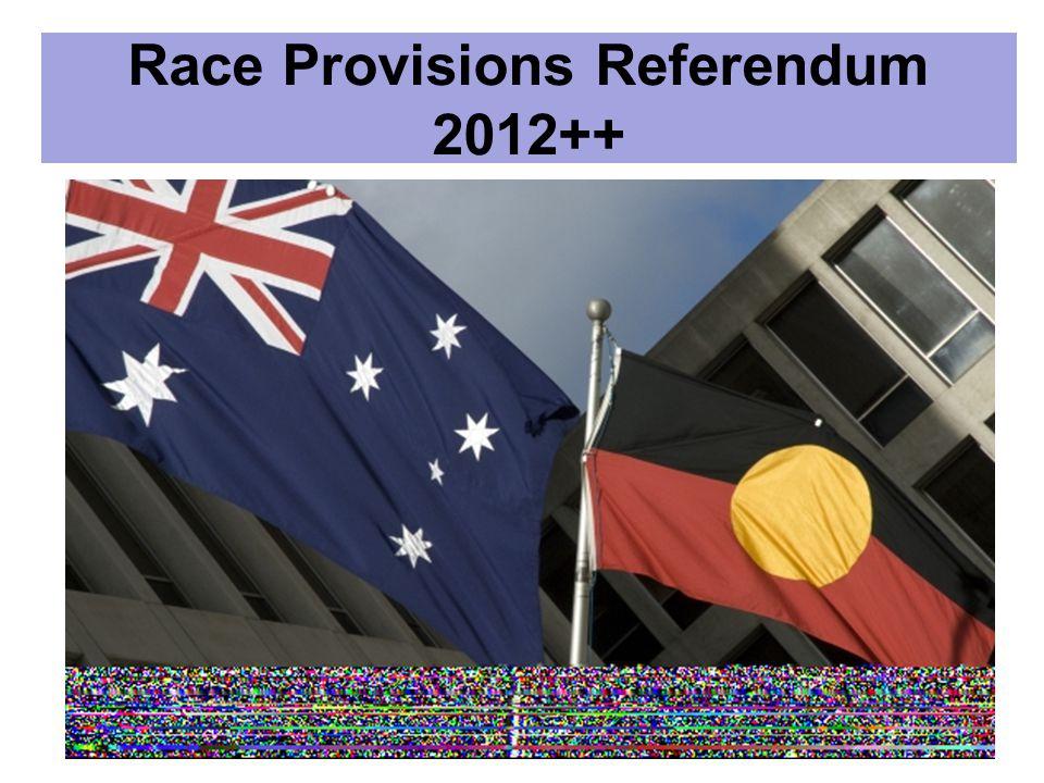 Race Provisions Referendum 2012++