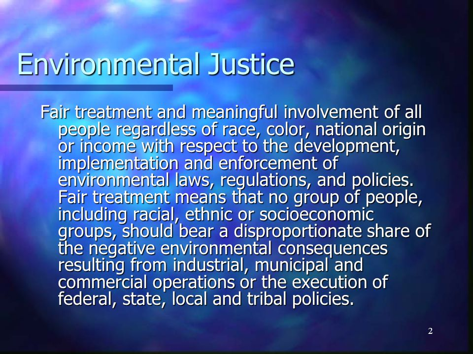 5/2/201513 Is this environmental racism.