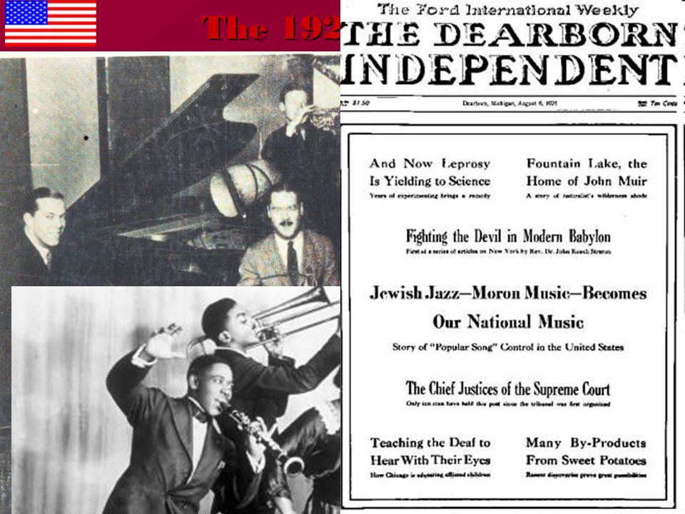 The 1920s: Jazz