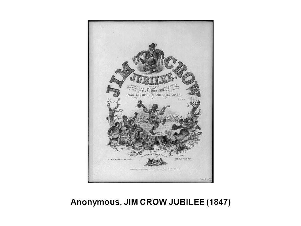 Anonymous, JIM CROW JUBILEE (1847)