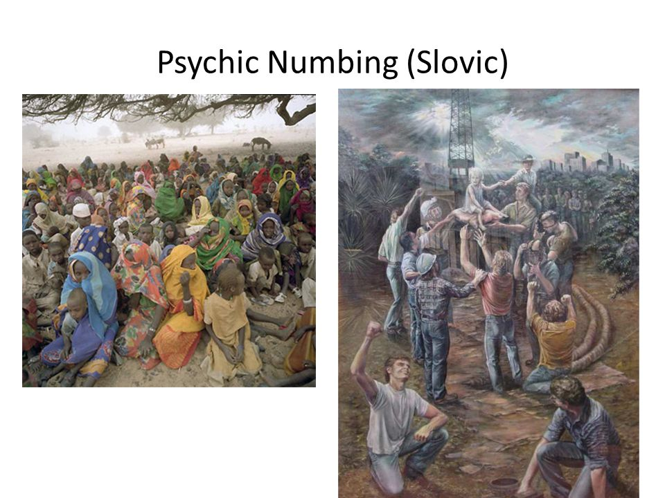 Psychic Numbing (Slovic)