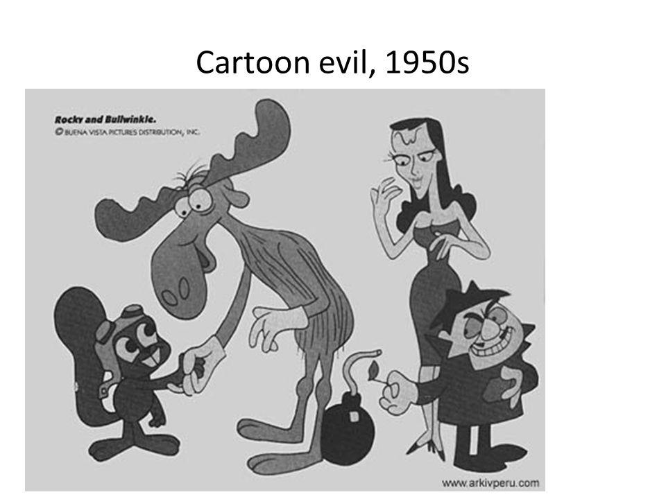 Cartoon evil, 1950s